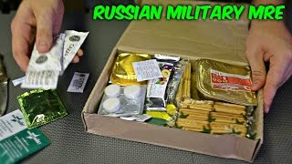 Testing Russian Military MRE (Meal Ready to Eat)
