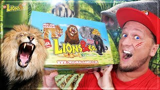 LIONS & CO 🦁 Figuren Maxxi Edition DeAgostini | Unboxing DEUTSCH