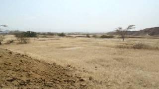 reservorio de agua para riego de higuerilla
