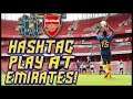 HASHTAG UNITED PLAY AT EMIRATES STADIUM!