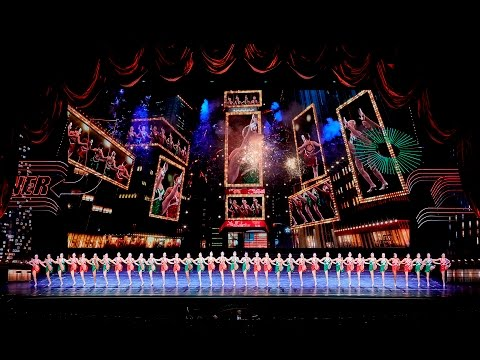 Behind-the-Scenes at the Radio City Christmas Spectacular - New York At Christmas!