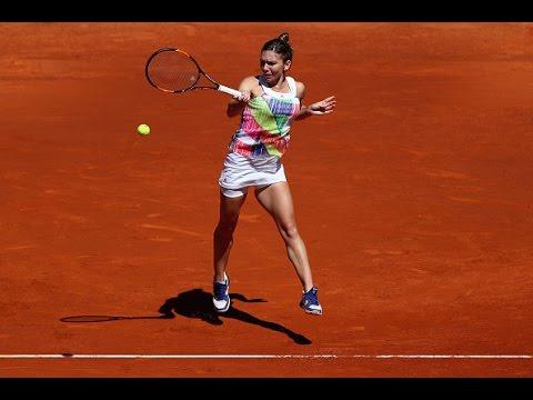 2016 Mutua Madrid Open Second Round | Simona Halep vs Karin Knapp | WTA Highlights