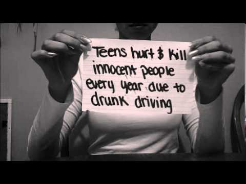 the issues of teenage drinking and driving Teenage drinking and driving has become a big problem in america a huge amount of teens die each y.