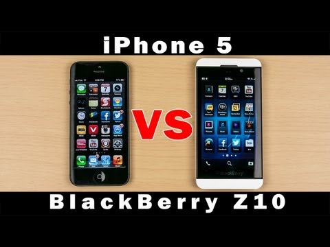BlackBerry Z10 vs iPhone 5 - Full In-Depth Comparison