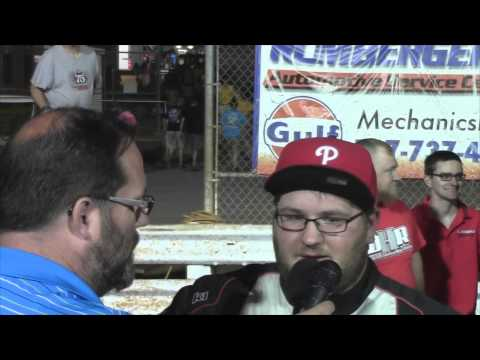 Williams Grove Speedway 358 Sprint Car Victory Lane with 7-25-14