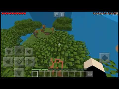 Weird Find The Button Map -BluTheGamer MineCraft PE-
