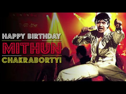 Happy Birthday Mithun Chakraborty!