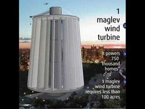 The Maglev Wind Turbine Powers 750 Thousand Homes