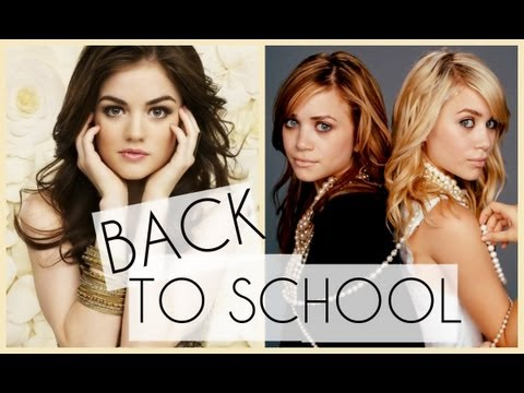 Back to School Celebrity Inspired Style: Makeup + Hair + Fashion
