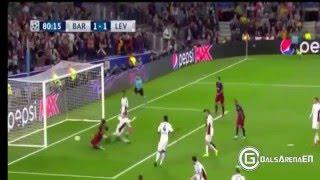 برشلونة ميسى افضل لاعب  ضد ليفربول