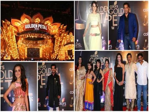 Check Out! Red Carpet Of Colors Golden Petal Awards With  B-Town Celebs