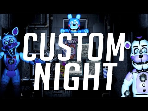 Five Nights at Freddy's: Sister Location ALL CUSTOM NIGHTS BEAT!