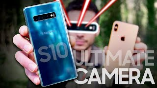 Samsung Galaxy S10 Plus vs iPhone XS Max Camera Test