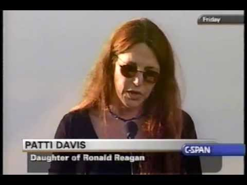 Funeral of Ronald Reagan, 2004-06-11 Part 15 (Patti Davis)