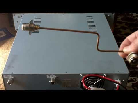 Coax Jumper Mod on K9RRD ID-RP400 D-STAR Repeater Module 1of4