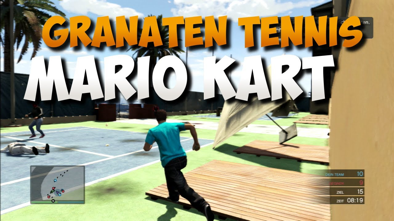 gta 5 online granaten tennis mario kart rehaldinhos. Black Bedroom Furniture Sets. Home Design Ideas