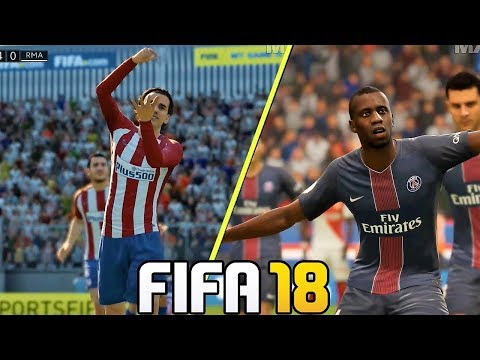 FIFA 18 Gameplay New Celebrations Ft. Ronaldo, Griezmann, Dybala (Xbox One, PS4, PC ) HD 1080p