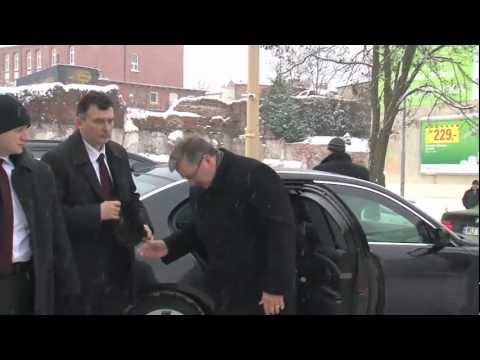 Prezydent Bronisław Komorowski 17 Grudnia 2010  W Szczecinie - Gwizdy