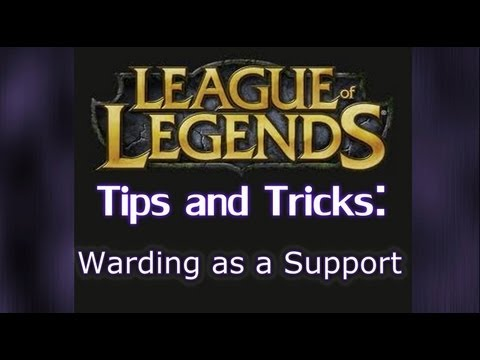 How to Ward as a Support | League of Legends LoL Warding Guide