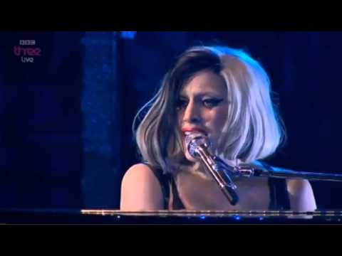 Lady Gaga - The Edge of Glory (Live at BBC Radio 1
