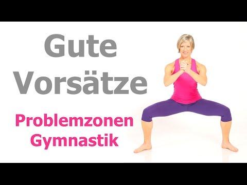 25 min. Problemzonen - Gymnastik ohne Geräte