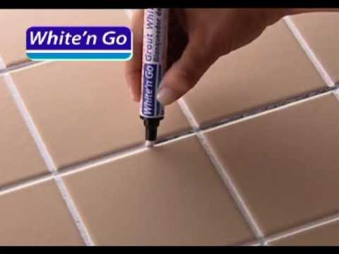 Le blanchisseur de joints youtube for Peinture pour joints de carrelage mural