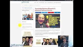 Knowledge Business Blueprint Review & Bonus (I Bought It!)