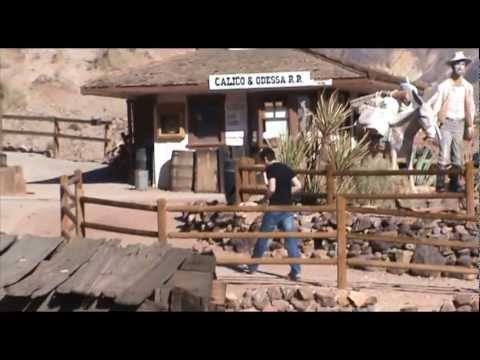 FE USA TRIP 2012 -18- Mojave in Calico Ghost town .f4v