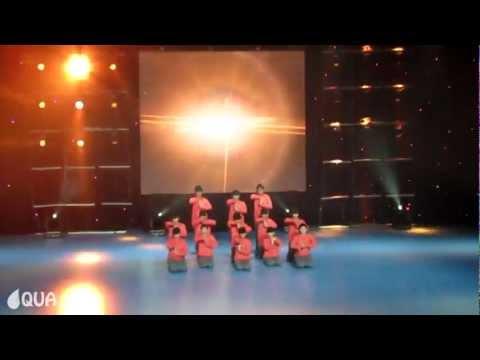 AQUA | Party Hoppers | 2nd Place - Junior Formation @ Dance Fest Novi Sad 2012