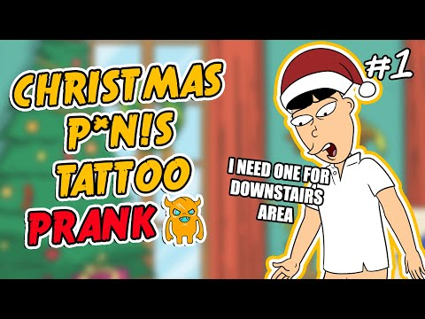Christmas Tattoo Prank #1