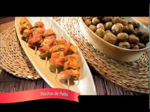 Pinchos de pollo receta - Como preparar pinchos de pollo ...