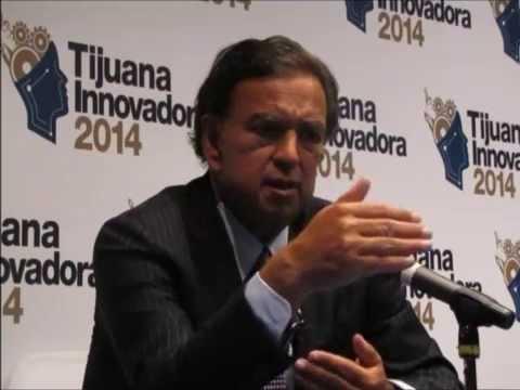 BILL RICHARDSON EX GOBERNADOR NUEVO MEXICO EEUU EN TIJUANA INNOVADORA
