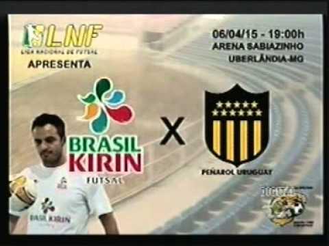 Amistoso internacional abre a Liga de Futsal em Uberlãndia