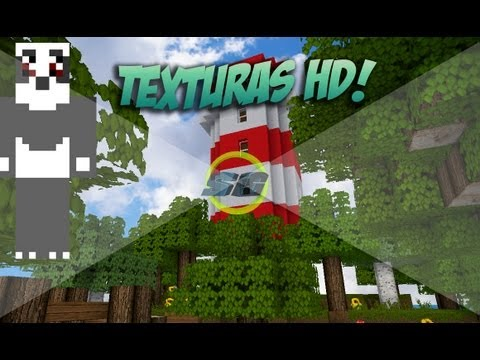 Minecraft 1.7.9, 1.7.2 ~ El mejor pack de texturas (reduce lag)
