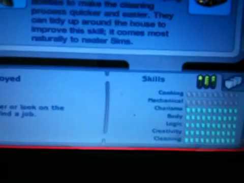 Sims 2 Skills Cheat