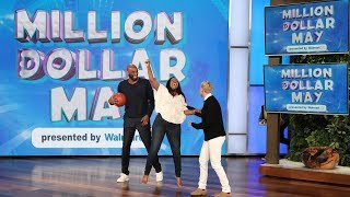 Download Song Kobe Bryant Surprises a Fan with an Assist to Win Big in Million Dollar May Free StafaMp3