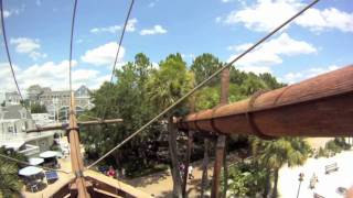 BEACH CLUB STORMALONG BAY POOL WATER SLIDE POV