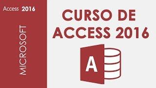 CURSO DE ACCESS 2016 - COMPLETO