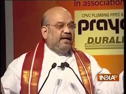 Shri Amit Shah at IndiaTV Samvaad on 2 Years of Modi Govt - 16 May 2016