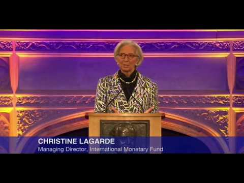 Christine Lagarde Video Critique of the Richard Dimbleby Lecture 2014