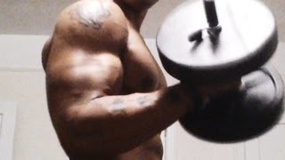 """Carter Curls"" How To Get Bigger Biceps FAST!!! (Build Stronger Arms) Big Brandon"
