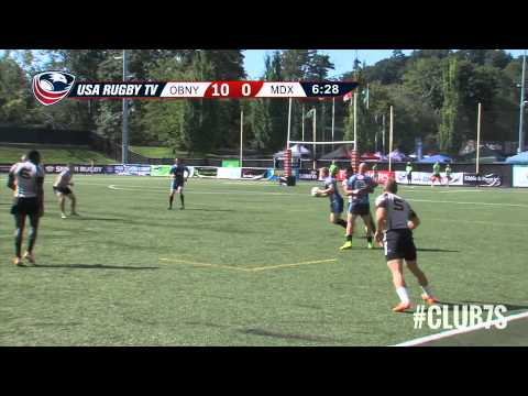 2014 Club 7s - Old Blue of New York vs. Maryland Exiles