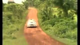 LOL!.. Bicycle vs Rally Car in Africa