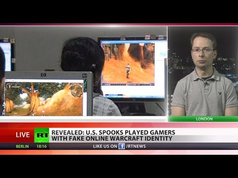 World of Spycraft: 'NSA simply justifies games at work by planting spooks'