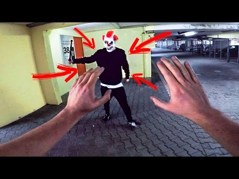 PARKOUR VS KILLER CLOWN - THE REVENGE - PARKOUR POV | GoPro HERO5