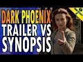 X Men Dark Phoenix Trailer Vs Synopsis mp3