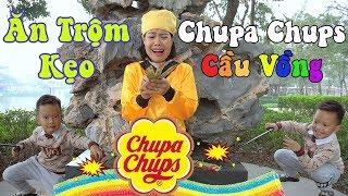 Trò Chơi Ăn Trộm Kẹo Chupa Chups của Tôn Ngộ Không ❤ BonBon TV ❤