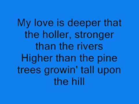 Randy Travis - Deeper Than The Holler