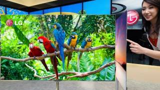 55 OLED LG & Samsung TV'S  And Gorilla Glass 2 - CES 2012