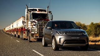 All-New 2018 Land Rover Discovery 3.0 TD6 Tows 110-Ton Road Train